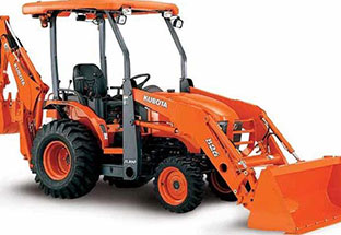 Kubota loader backhoes