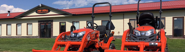 Parsons Tractor | Kalispell, Montana | Kubota Dealer